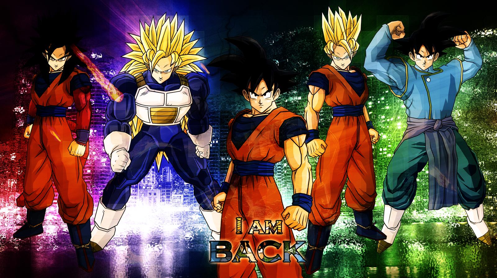 I Am Back Wallpaper Free Download: I Am Back Wallpaper By DBZArtist94 On DeviantArt