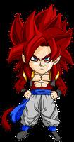 Gogeta SSJ4 Chibi by DBZArtist94