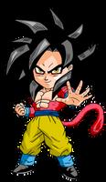 Goku SSJ4 Chibi by DBZArtist94