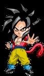 Goku SSJ4 Chibi