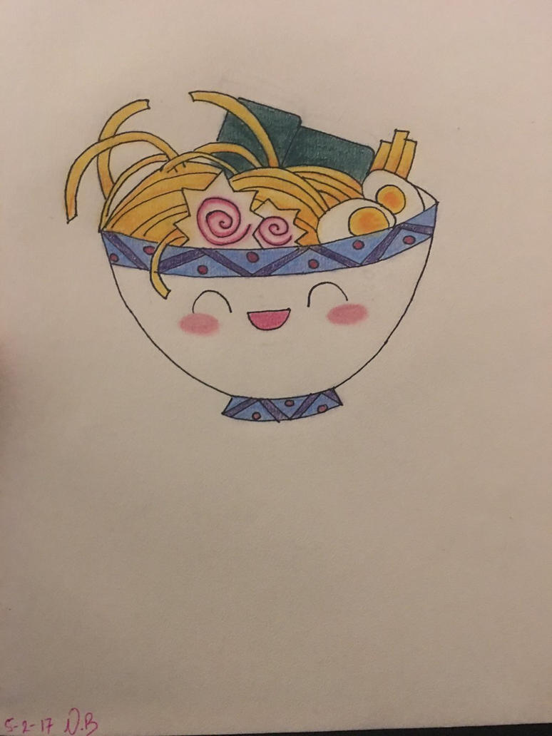 Cute Udon Noodles by Sesshomaru1991
