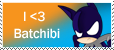 I heart Batchibi stamp by OrangeBlueCream