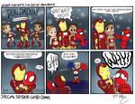 Special spider-chibi comic