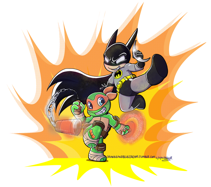 Chibi Ka-Boom! by OrangeBlueCream