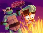 Pizza steve vs mikey