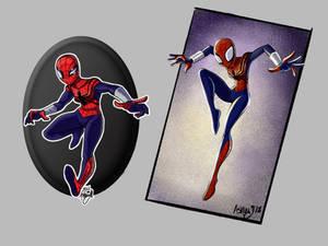 Spider-girl: 5 year redraw