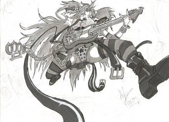 BlackRose Music Maiden by newtier