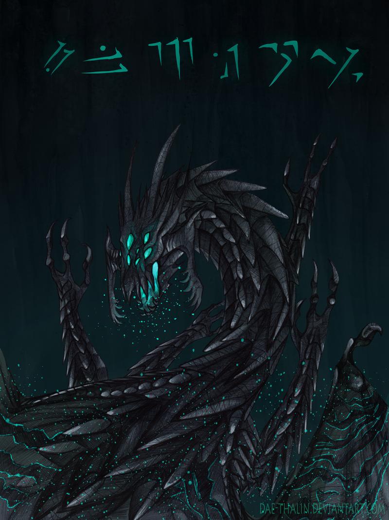 Chaurus Dragon by Dae-Thalin