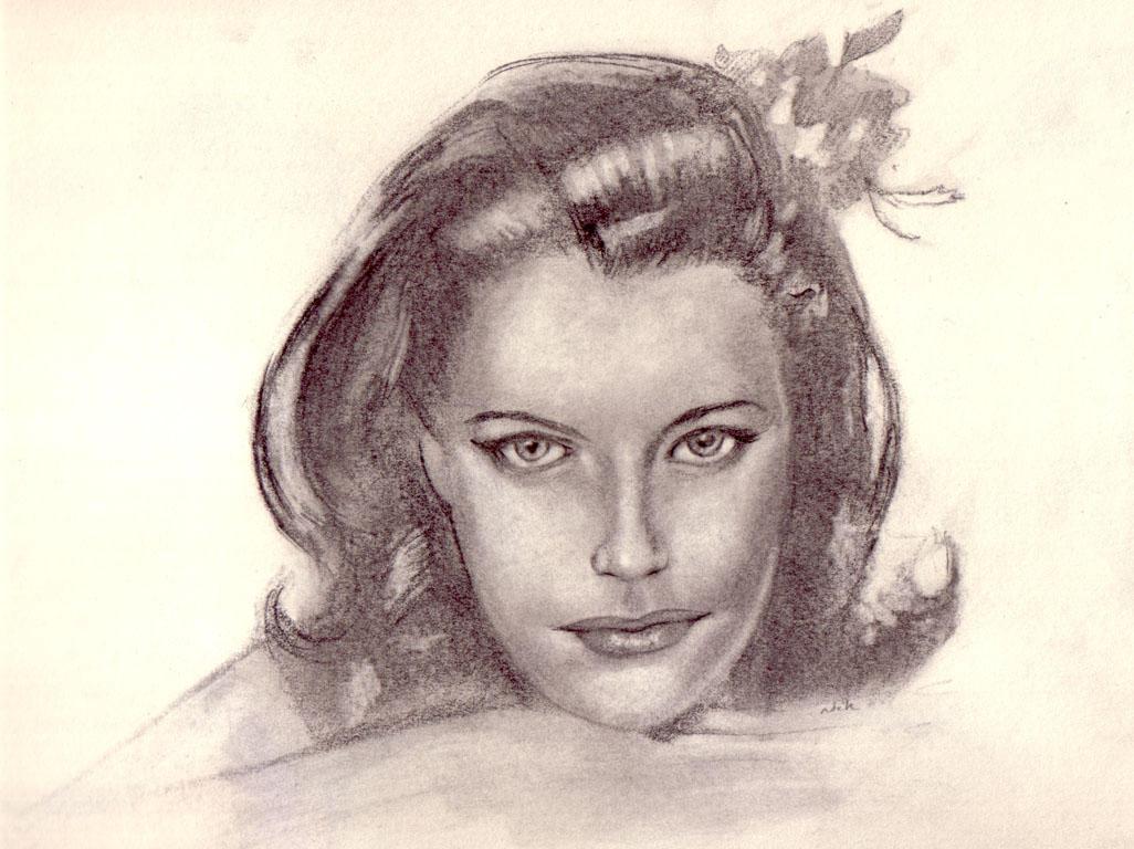 woman portrait by tweaknik