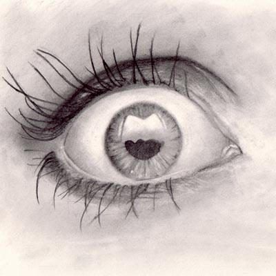 how to draw reflections in eyes
