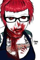 Zombie Blood by nykofade