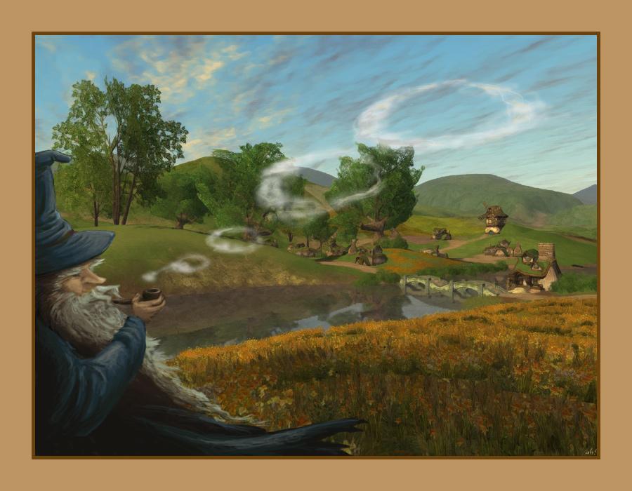 Gandalf by spiegelscherben