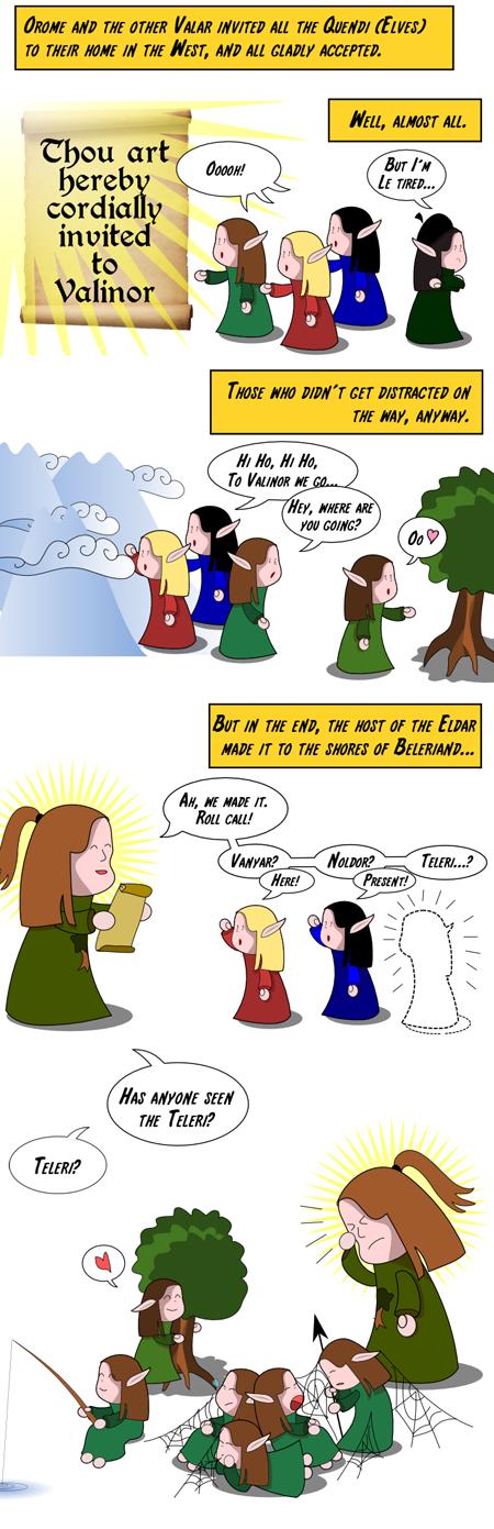 Silmarillion: The Good Parts Version 1 by spiegelscherben