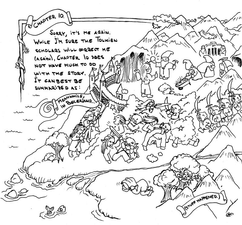 Silmarillion the Good Parts Version 10-and-a-half by spiegelscherben