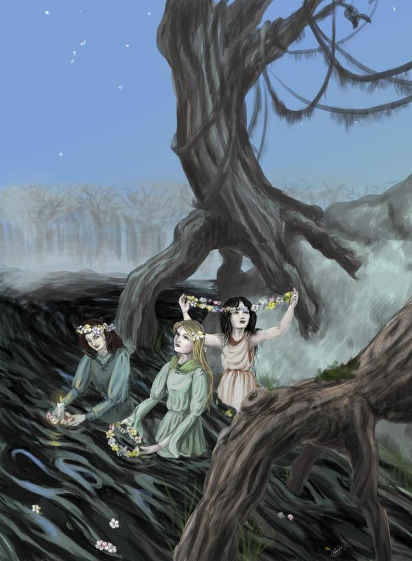 Spring Ritual by spiegelscherben
