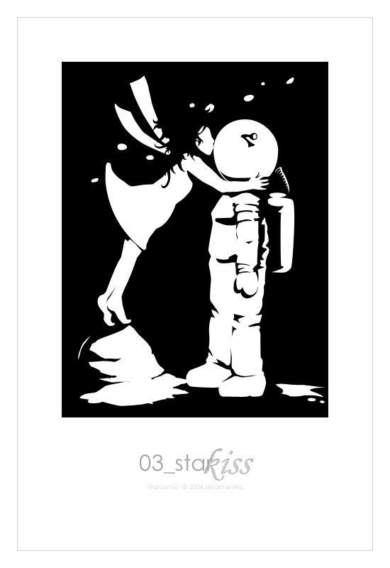 Starcomic page 03: Starkiss by spiegelscherben