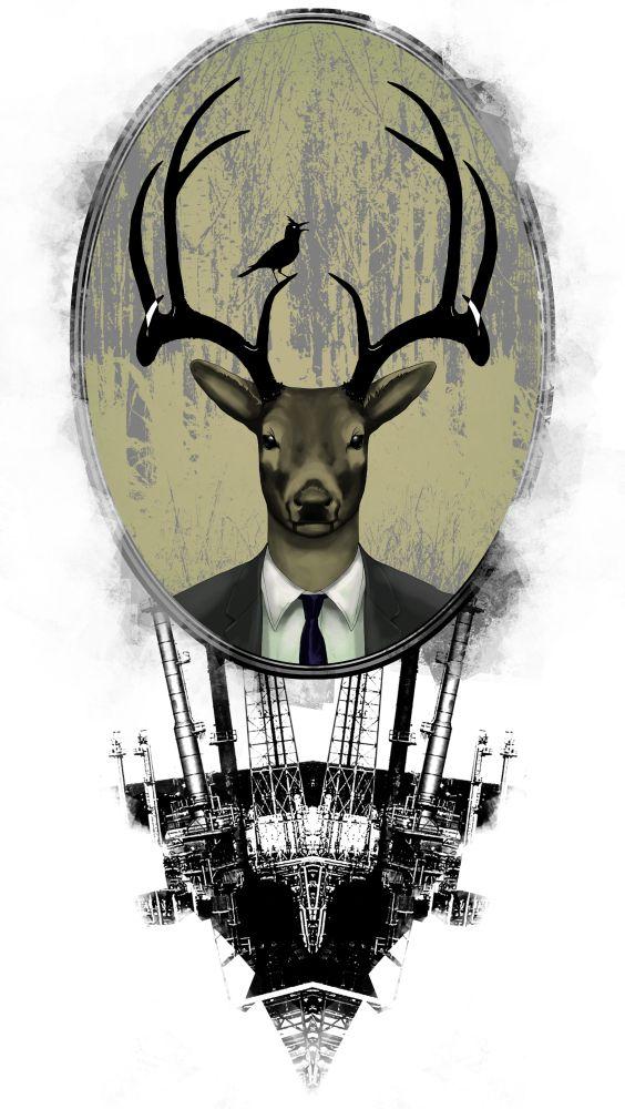 deer by viktor-toth