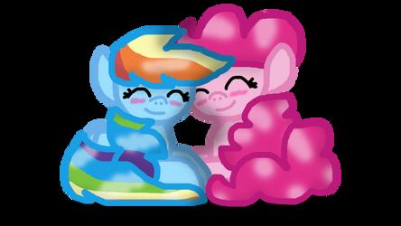 PinkieDash - Happy Pride Month by MuseScript