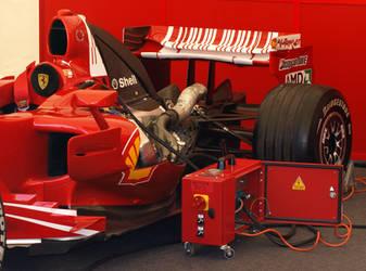 Ferrari F1 Engine by gradge