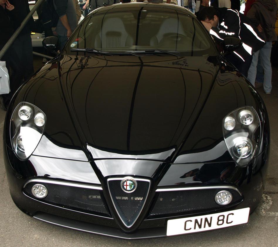 Alfa Romeo 8C By Gradge On DeviantArt