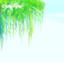 Floating Willow of Glass --bg by glasswillow