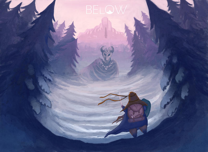 Below - You Shall Not Pass by Minaem1