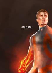 Ryan Archer /  Fire-Arm Concept Art by yupjaylovescomics
