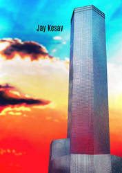 Core Tower Setting Concept Art by yupjaylovescomics