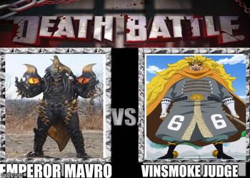 Emperor Mavro vs Vinsmoke Judge by Zonefighter