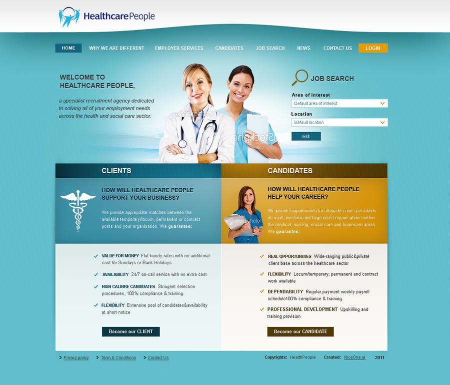 Healthcare people by Nikol-Kokesova