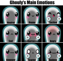 Ghouly's Main Emotions