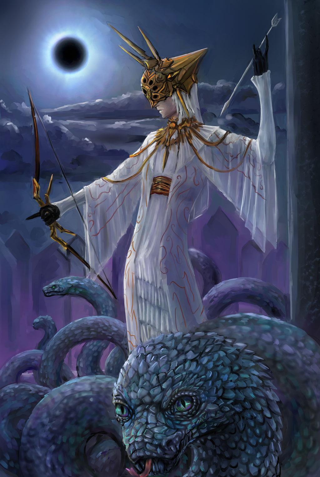 Image result for dark souls dark sun gwyndolin
