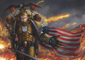 Godemperor President Donald Trump