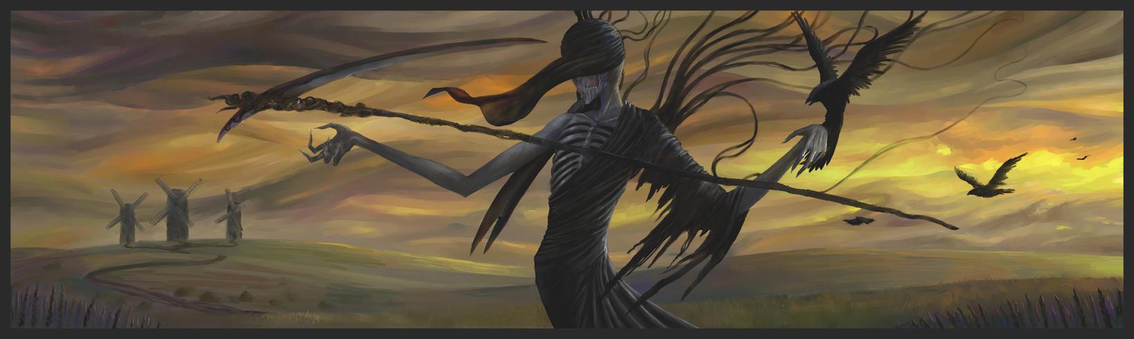Angel of death by Theocrata