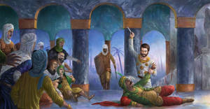 The assassination of caliph Umar