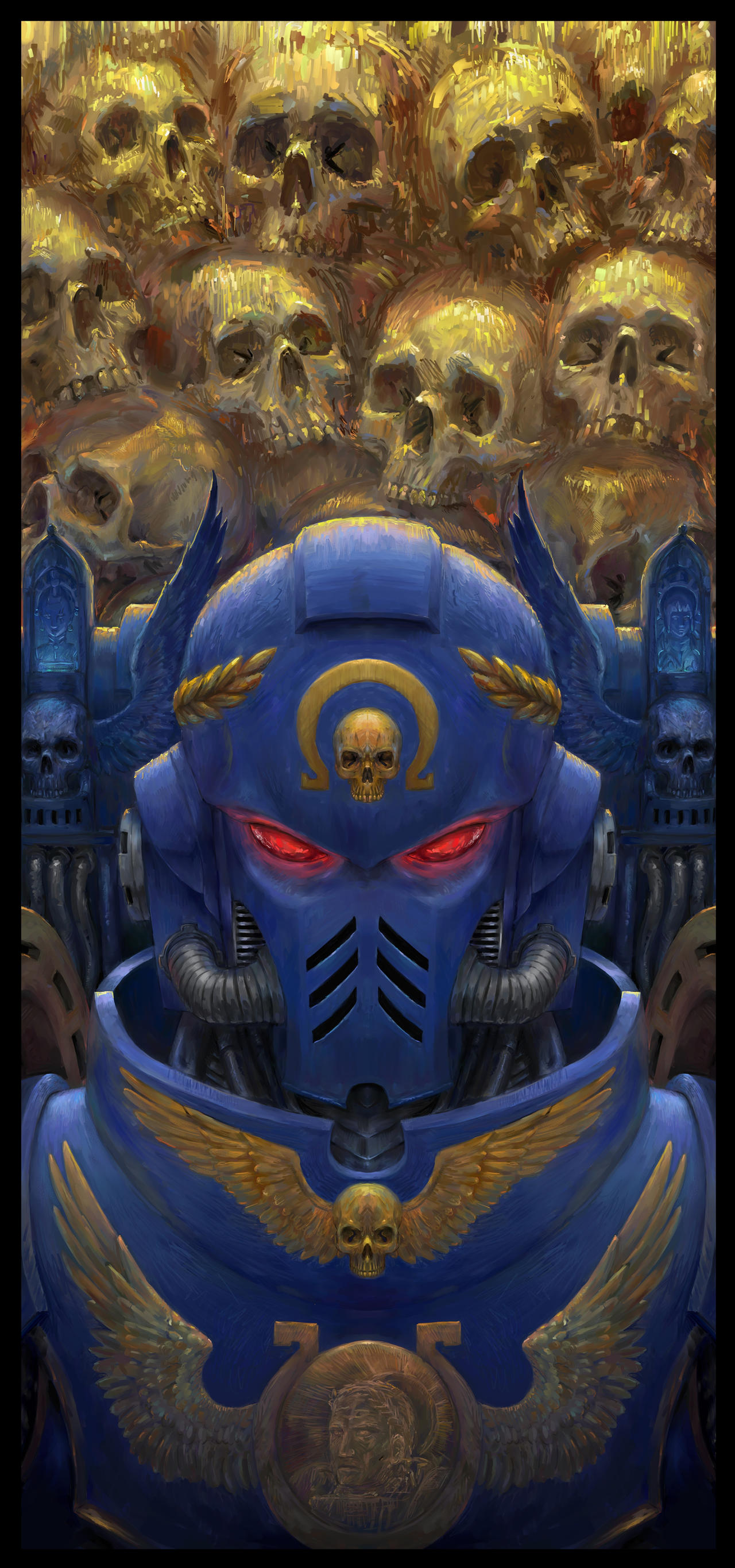 Primaris Space Marine By Theocrata On Deviantart