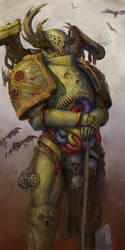 Nurgle marine by Theocrata