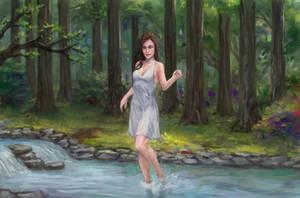 Commission: Creek