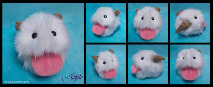 League of Legends Poro Custom Plush