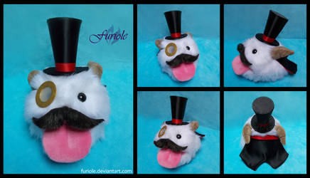 League of Legends Gentleman Poro Custom Plush