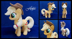 SOLD : Applejack Custom Plush by Furiole