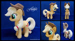 SOLD : Applejack Custom Plush