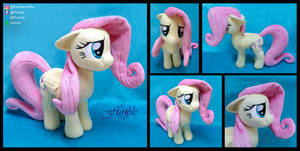 SOLD : Fluttershy custom plush
