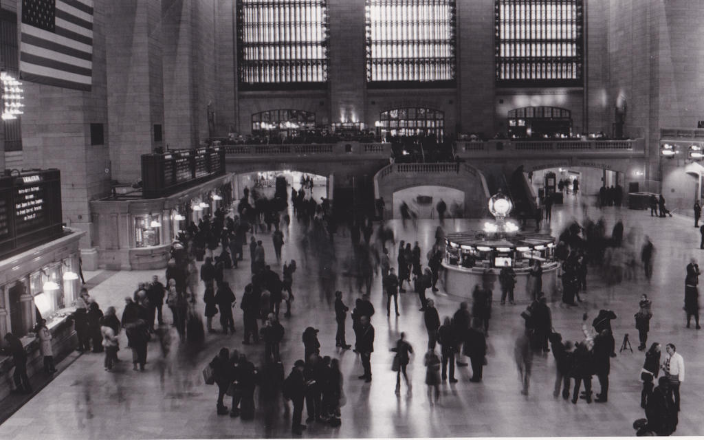 Grand Central Station by kyofangirl43