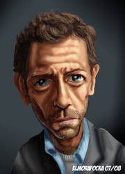 Dr House by elmorafocka