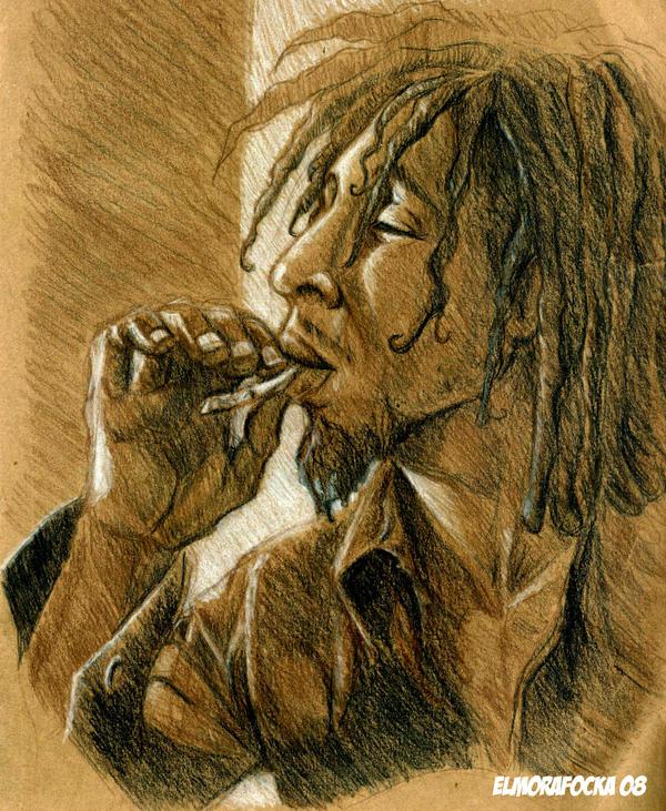 Marley Sketch by elmorafocka