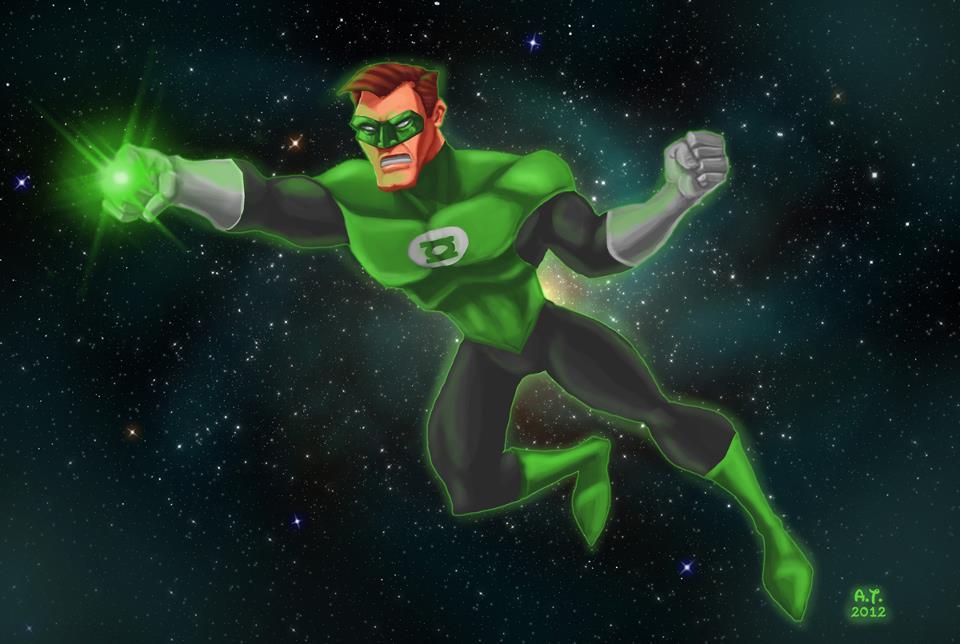 Hal Jordan GL by elmorafocka