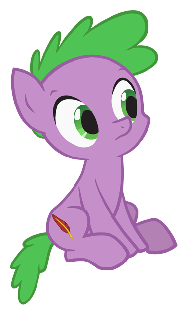 Ponified Spike by QueenCold