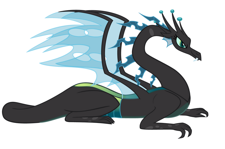 Dragonified Chrysalis by QueenCold