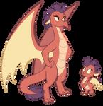 Commission: custom dragon
